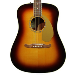 2012 Fender USA Select Kingman V Acoustic Electric Sunburst