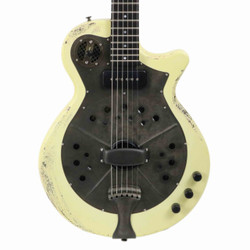 National Pioneer RP1 Steel Body Electric in Chipped Ivory