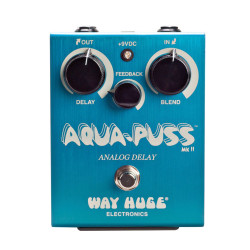 Way Huge Electronics Aqua Puss MK2 Analog Delay Pedal