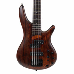 Ibanez SR Standard 5 String Electric Bass in Antique Brown Stained