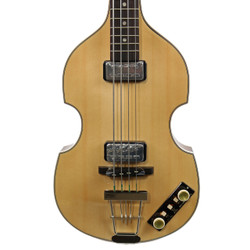 "Hofner Limited Edition 500/1 Gold Label ""Berlin"" Violin Bass Madrone Burl"