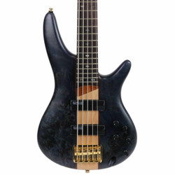 Ibanez SR Standard 5 String Electric Bass in Deep Twilight Flat