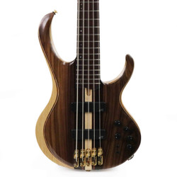 Ibanez BTB Premium 5 String Electric Bass in Natural Low Gloss