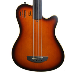 1999 Godin A4 Fretless Semi-Acoustic Electric Bass Sunburst