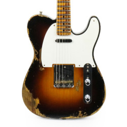Fender Custom Shop '53 Telecaster Heavy Relic in Wide Fade Two Tone Sunburst