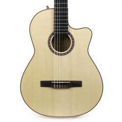 La Patrie Arena Series Thinline Classical CW Natural Flame Maple with Crescent II Electronics