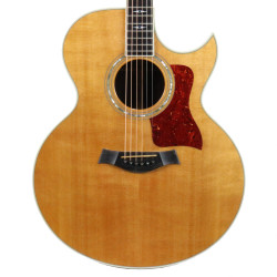 1993 Taylor 815C Jumbo Cutaway Acoustic Guitar Natural Finish