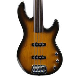 2011 G&L LB-2 Fretless Electric Jazz Bass Sunburst