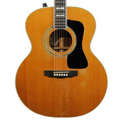 1998 Guild JF-55 Jumbo Acoustic Electric Guitar Natural