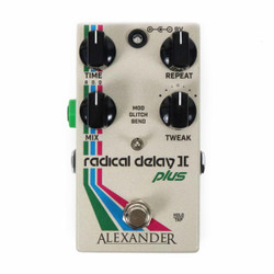 Alexander FX Radical Delay II Plus with Tap Tempo
