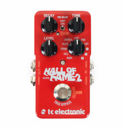 TC Electronic Hall of Fame 2 Delay / Reverb Pedal