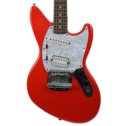 1996 Fender Kurt Cobain Jag-Stang Fiesta Red Made in Japan