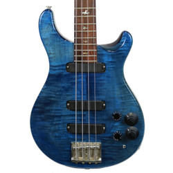 Vintage 1988 PRS Paul Reed Smith Curly Bass 4 Whale Blue