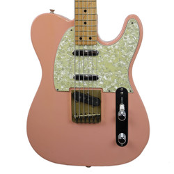 G.E. Smith's 1991 Fender Custom Shop Fred Stuart Bajo Sexto Telecaster Shell Pink