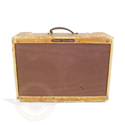 G.E. Smith's Vintage 1959 Fender High-Powered Twin 85W 2x12 Tube Combo Amp Tweed 5F8-A