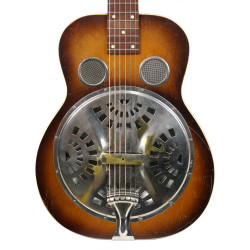 G.E. Smith's Vintage 1930's Dobro Model 37 Square Neck Resonator Sunburst