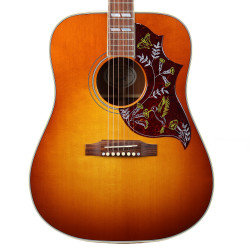Used Gibson Hummingbird Dreadnought Acoustic Electric Guitar Heritage Cherry Sunburst