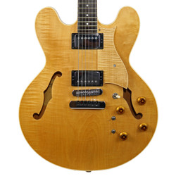 1997 Heritage H-535-VV Semi-Hollow Electric Guitar Antique Natural