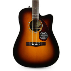 Fender CD-140SCE Dreadnought Acoustic Electric in Sunburst with Case