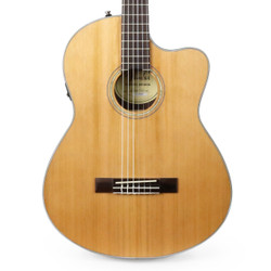 Fender CN-140SCE Concert Nylon Acoustic Electric in Natural