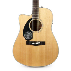 Fender CD-60SCE Dreadnought Left Handed Acoustic Electric in Natural