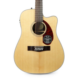 Fender CD-140SCE Dreadnought 12 String Acoustic Electric in Natural with Case