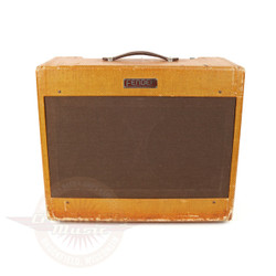 G.E. Smith's Vintage 1953 Fender Super 25W 2x10 Tube Combo Amp Tweed 5B4