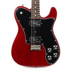 Fender 2017 Limited Edition American Professional Mahogany Telecaster Deluxe Shawbucker in Candy Apple Red