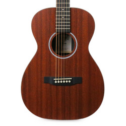 Martin 0X2MAE X Series Acoustic Electric Mahogany Parlor Guitar in Natural