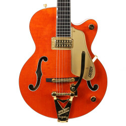 1996 Gretsch 6120-Jr Single Pickup Orange Stain