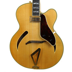 2006 Gretsch G6040MCSS Synchromatic Electric Archtop Natural