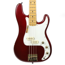 Vintage 1980 Fender Precision Bass Special Candy Apple Red