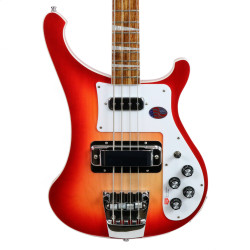 2017 New Old Stock Rickenbacker 4003 Electric Bass Guitar Fireglo