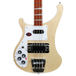 2017 New Old Stock Rickenbacker 4003LH Lefty Electric Bass Mapleglo