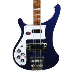 2017 New Old Stock Rickenbacker 4003LH Lefty Electric Bass Midnight Blue
