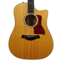 2008 Taylor 610ce Acoustic Electric Guitar Natural Amber