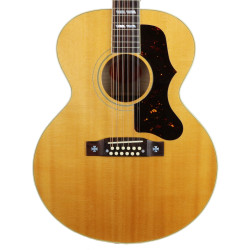 2000 Gibson J-185 12-String Jumbo Acoustic Guitar Natural Finish