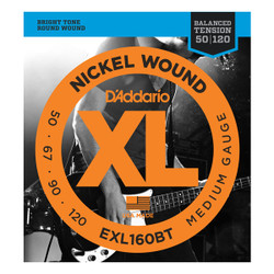 D'Addario EXL160BT Balanced Tension .050-.120 Med Gauge Long Scale Bass String Set