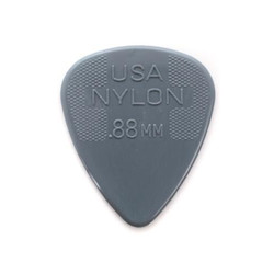 Dunlop Picks Nylon Standard 12-Pack .88mm