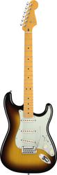 Fender American Deluxe Stratocaster V Neck Electric Guitar 2-Color Sunburst