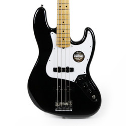 Fender American Standard Jazz Bass Black with Maple Fretboard