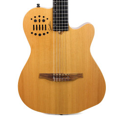 Godin Multiac ACS-SA Nylon String Cedar Top Acoustic-Electric Guitar Natural Semi-Gloss B-Stock