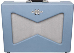 "Fender Vaporizer 12W 2-Ch 2x10"" Pawn Shop Special Tube Combo Amp in Slate Blue"
