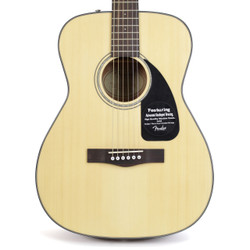 Fender CF-60 Folk Acoustic Guitar Rosewood Fingerboard Natural