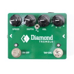 Diamond TRM1 Analog Tremolo Pedal with Tap Tempo