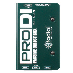 Radial Engineering ProDI Passive Direct Box Pedal