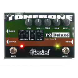 Radial Engineering PZ-Deluxe Acoustic Instrument Preamp Pedal