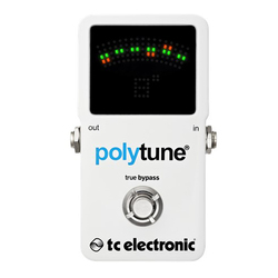 TC Electronic PolyTune 2 Guitar/Bass Tuner Pedal