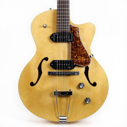 Godin 5th Avenue Kingpin II CW Archtop Electric Guitar in Natural
