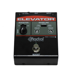 Radial Engineering Elevator Dual Mode Class-A Buffer Pedal with 18 dB Boost